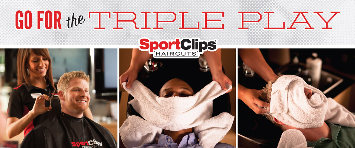 The Sport Clips Haircuts of Hilliard-Britton Pkwy  Triple Play